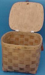 Hat Box - Matted Lid